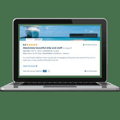 Verified Cruise Reviews screenshot